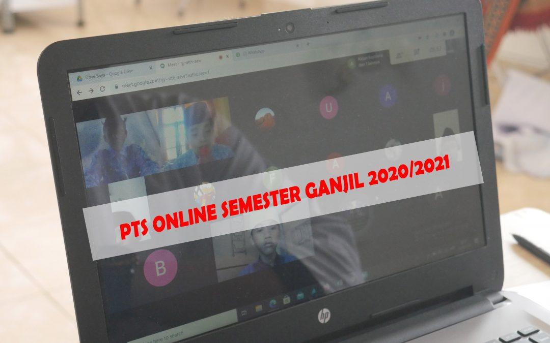 PARA SANTRI MTs MELAKSANAKAN PENILAIAN TENGAH SEMESTER(PTS) GANJIL TP 2020/2021 ONLINE